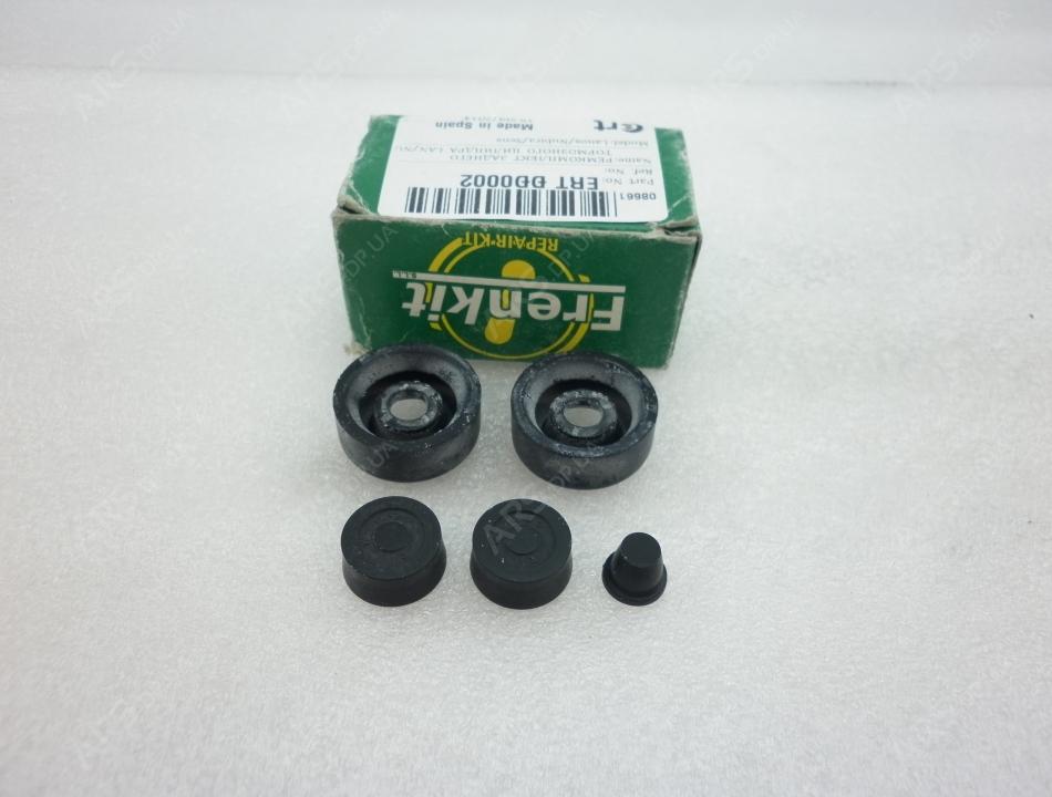 ремкомплект для заднего тормозного цилиндра chevrolet lacetti