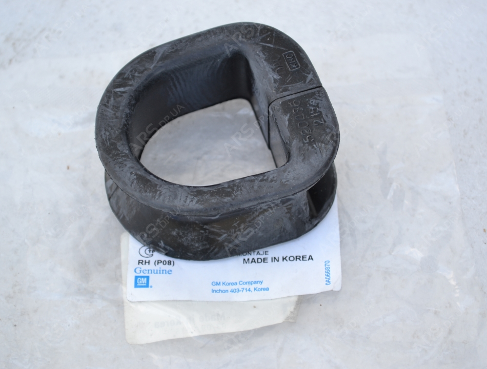 chevrolet 95710893 резинка рейки рулевой левая
